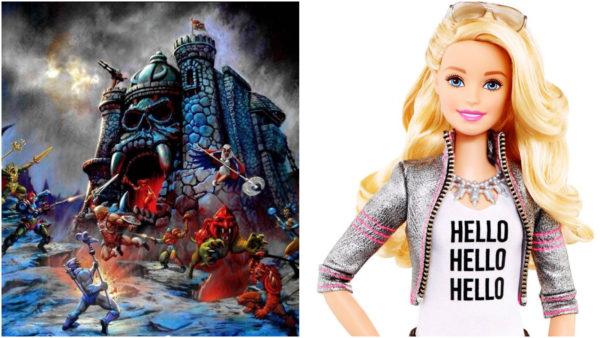 Mattel Collage