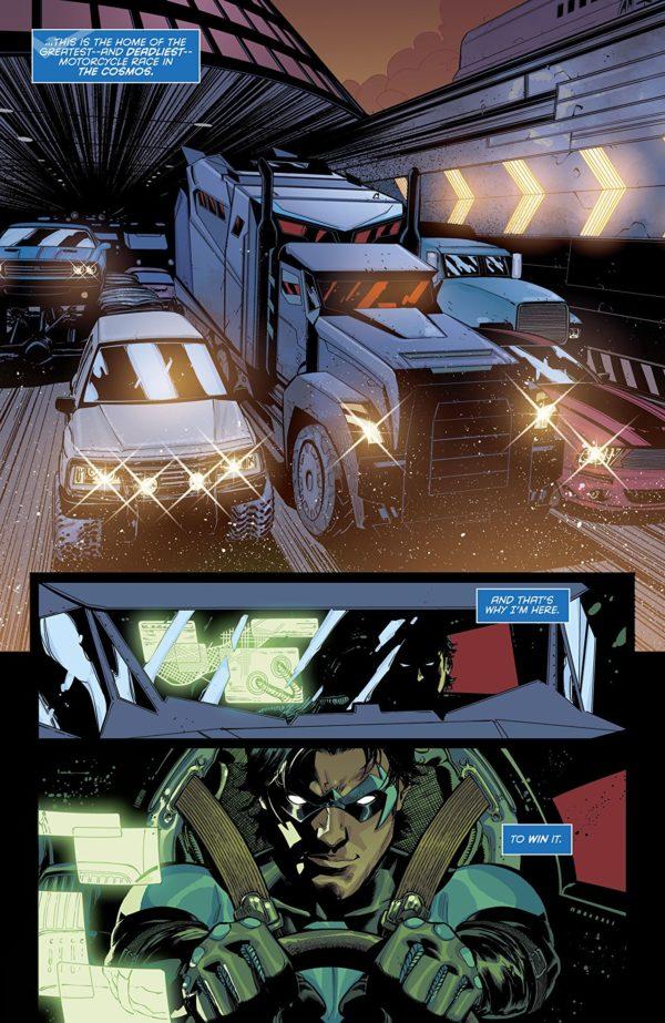Nightwing #48 art by Amancay Nahuelpan and Nick Filardi