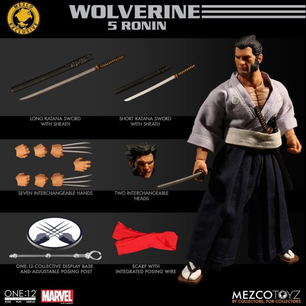One 12 Collective Ronin Wolverine NYCC Exclusive 12
