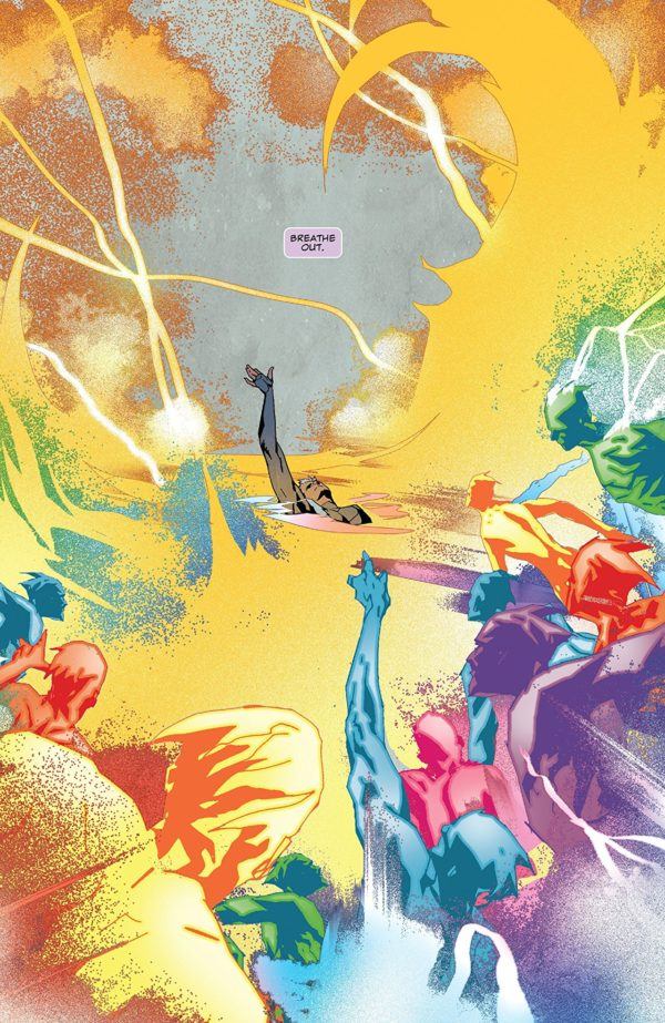 Quicksilver: No Surrender #5 art by Eric Nguyen and Rico Renzi