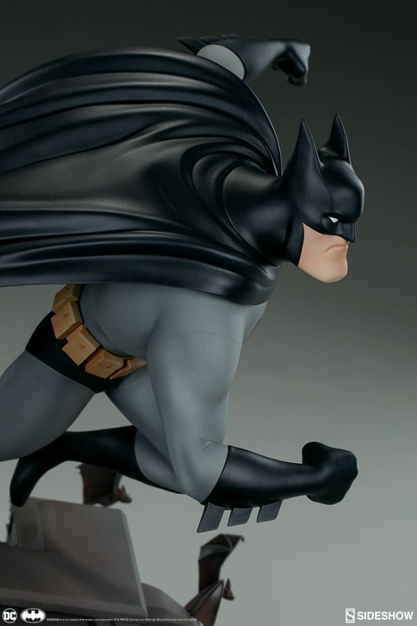 Sideshow Collectibles Batman The Animated Series Batman Statue 7