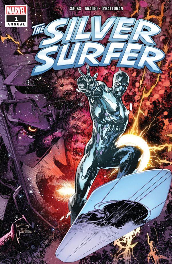 Silver Surfer Annual #1 cover by Philip Tan and Marte Gracia