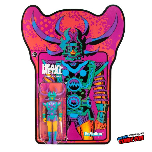 Super7 Heavy metal Lord of Light ReAction NYCC Exclusive