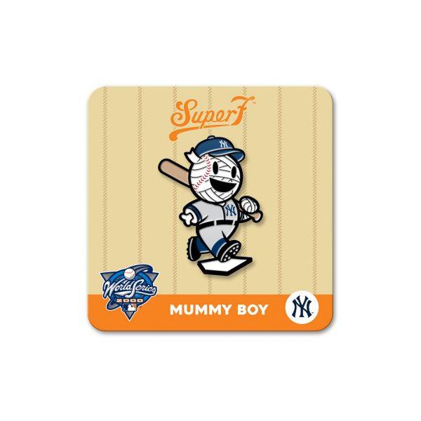 uper7 New York Mets NYCC MLB Pin