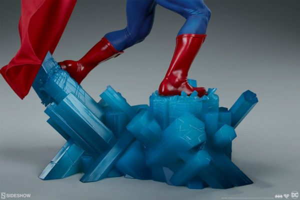 Superman Vs Batman Diorama Statue Sideshow 12