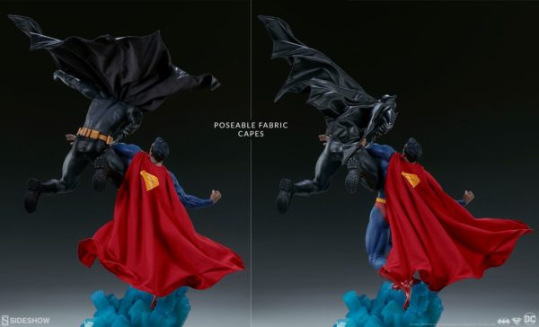 Superman Vs Batman Diorama Statue Sideshow 6
