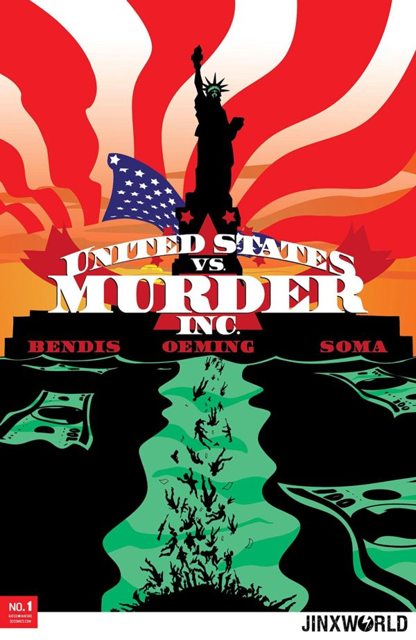 United States vs Murder Inc. #1 cover by Michael Avon Oeming
