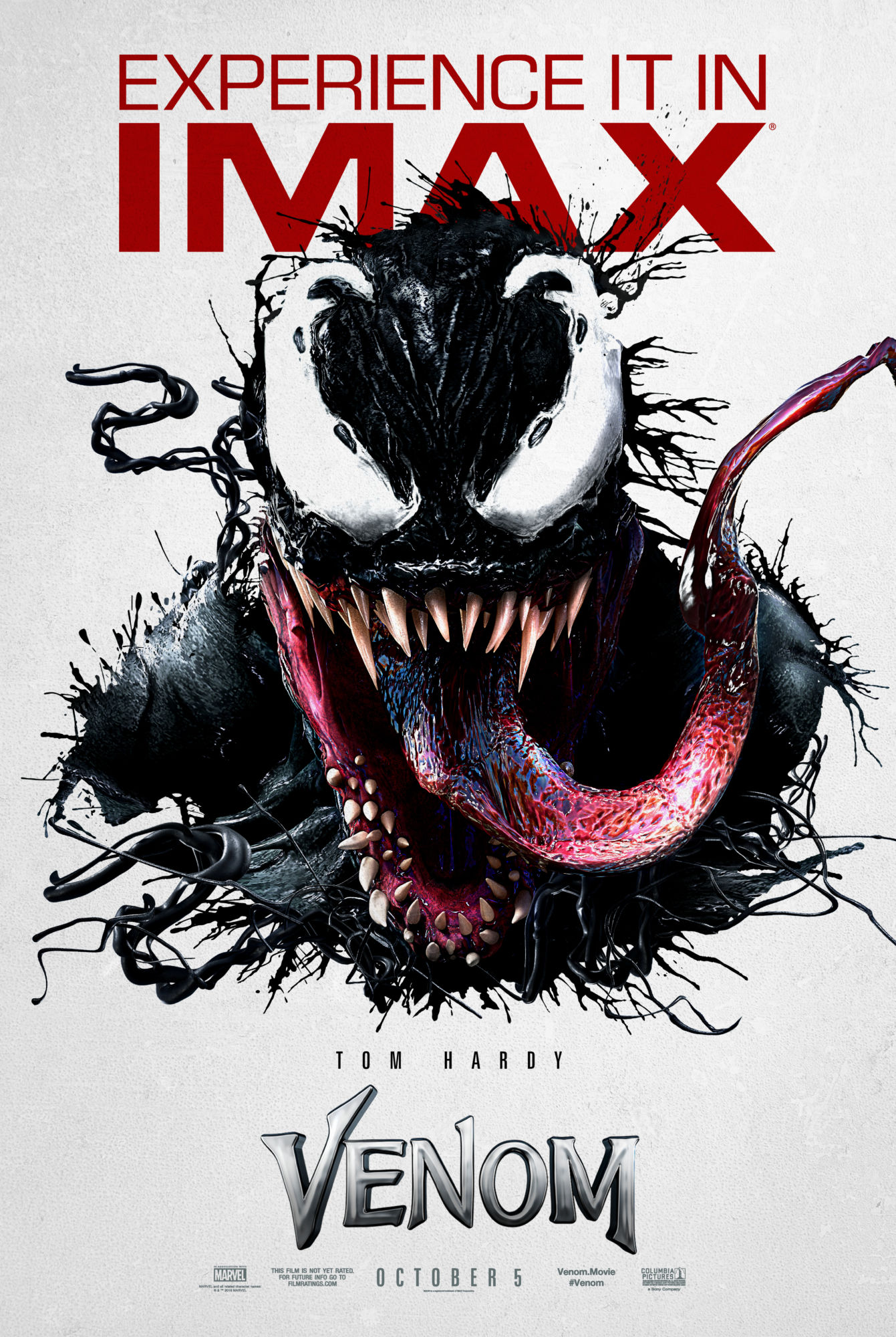 a0155468a56 New IMAX Poster for Venom Features Exclusive Art