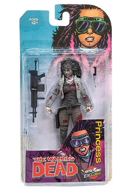 Walking Dead McFarlane Toys NYCC Exclusive Juanita Sanchez Black and White 2