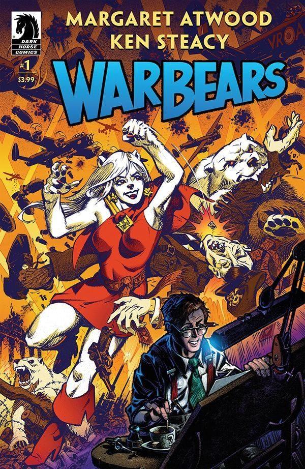 War Bears #1 cover by Ken Steacy