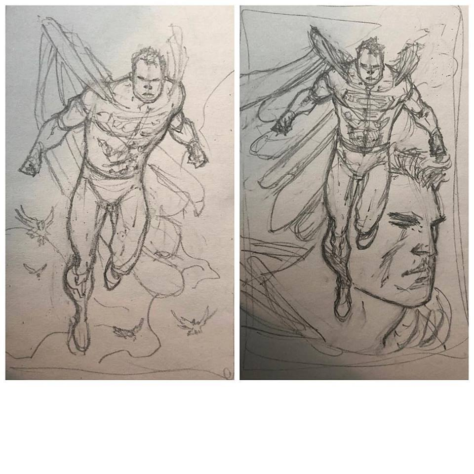 Rob Liefeld Drawing Superman? - Bleeding Cool News And Rumors