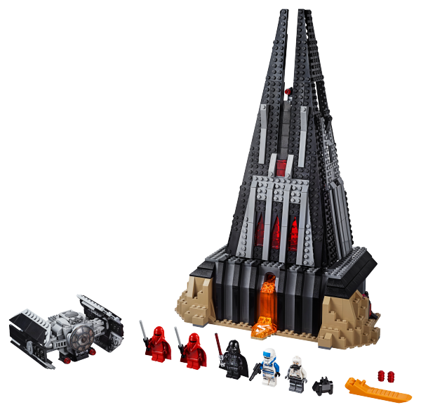 LEGO Star Wars Darth Vader's Castle 6