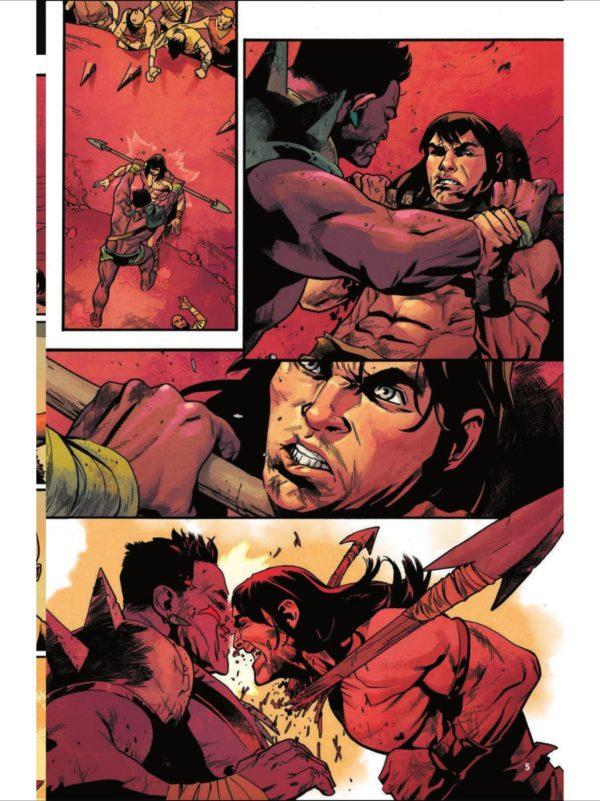 Marvel's CONAN THE BARBARIAN #1 | The Swords of Robert E  Howard