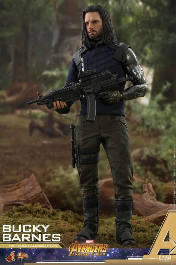 Bucky Barnes Infinity War Hot Toys 10