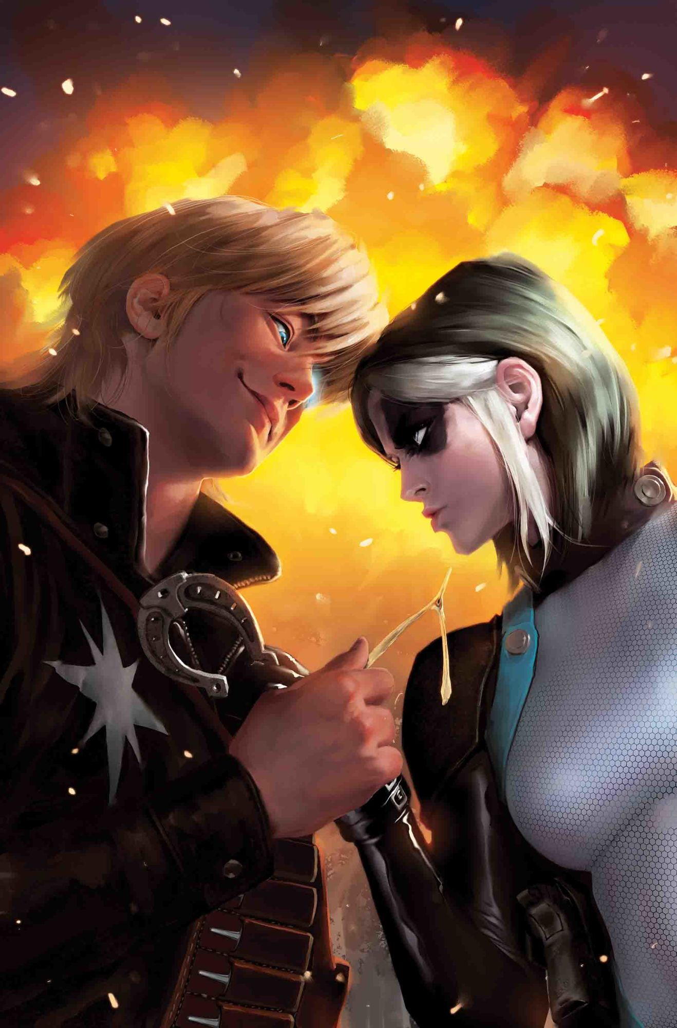 Stealth Crossover? Domino and Mr. and Mrs. X Both Visit the Mojoverse in January...