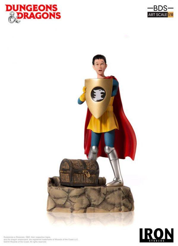 Dungeons and Dragons Cartoon Eric Statue