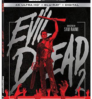 Evil Dead 2 4K Blu Ray Cover