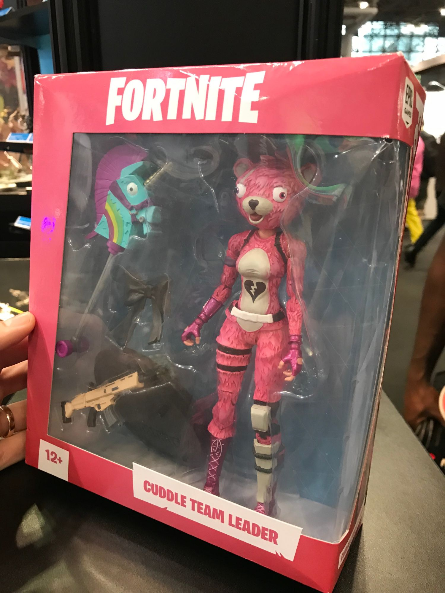 Mcfarlane Toys Debuts Fortnite Action Figures At Nycc