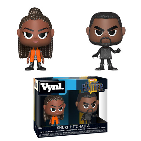 Funko Black Panther Vynl Set