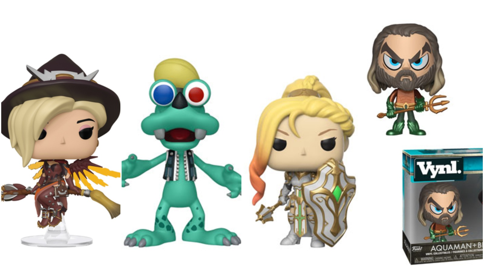 Funko Round-Up: Kingdom Hearts 3, Summoners War, Overwatch, and Aquaman! - Bleed...