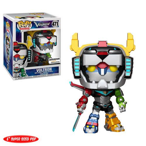 Funko Voltron Pop Super Sized Metallic