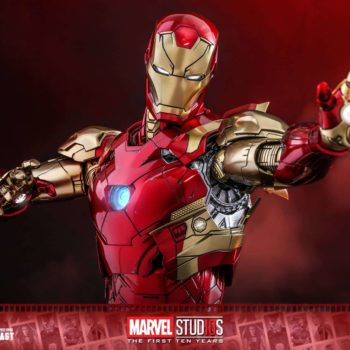 Hot Toys MCU 10th Anniversary Concept Iron Man 13