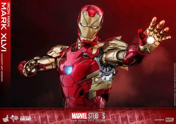 Hot Toys MCU 10th Anniversary Concept Iron Man 13