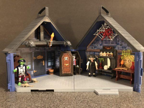 Playmobil Take Along Haunted House 6
