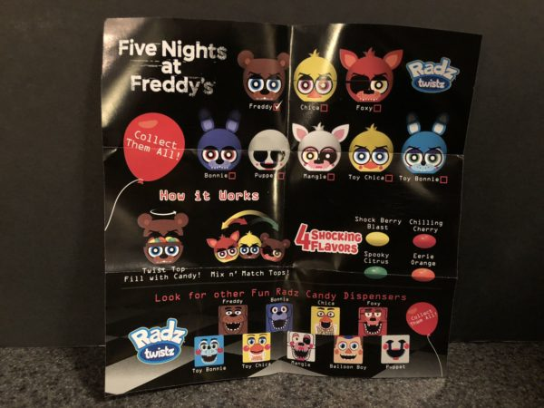 Trick or Treat Toys Five Nights at Freddy's Candy Dispenser 4