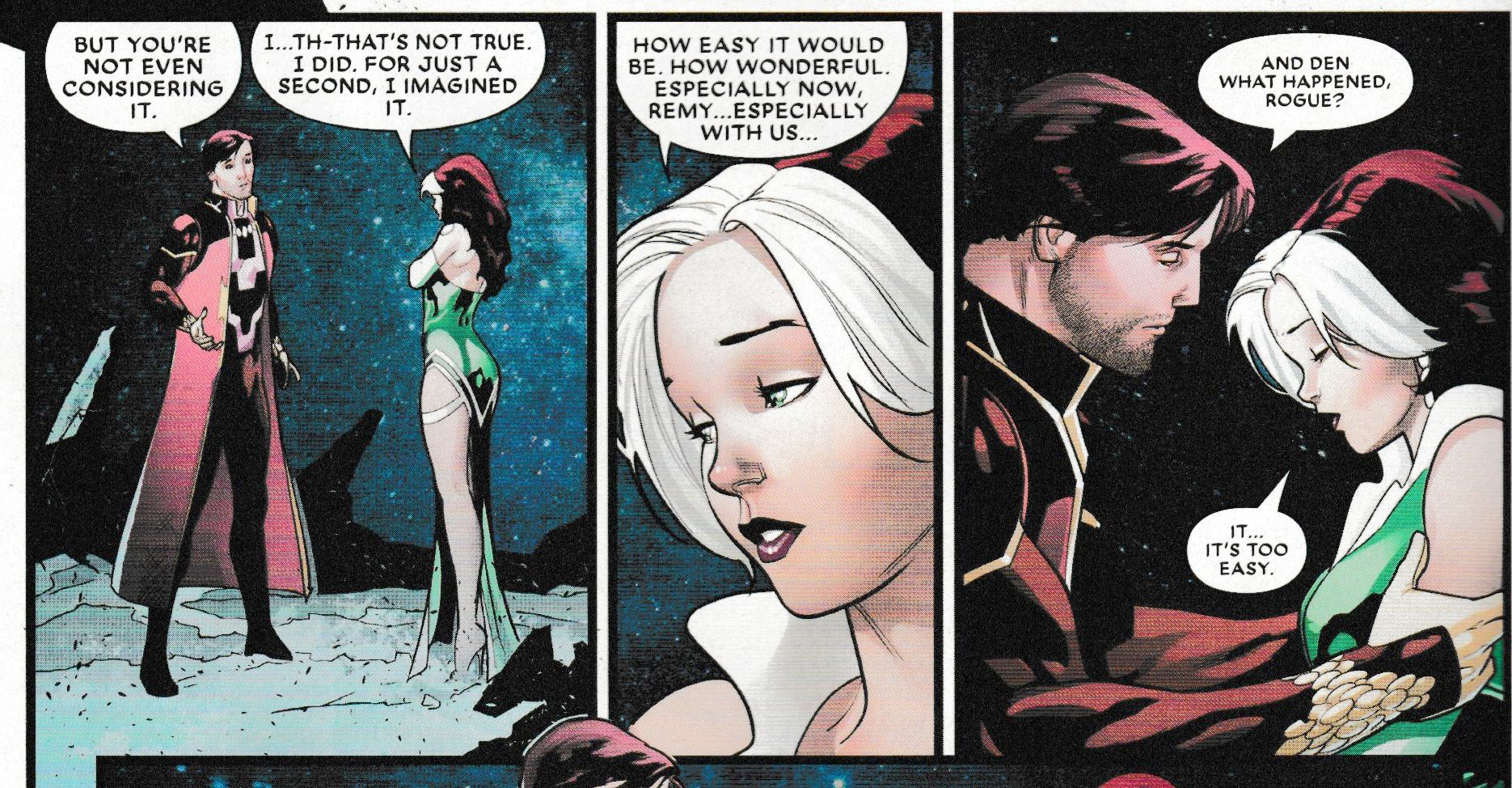 Rogue on a Woman's Right to Choose Her Superpowers (Mr & Mrs X #4 Spoilers) - Bleeding Cool News And Rumors