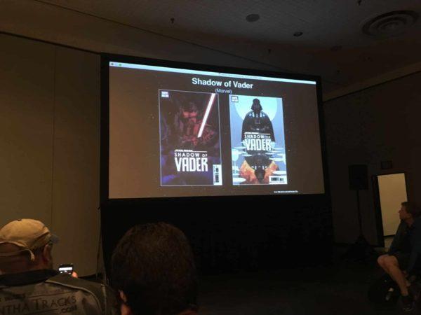 Shadow of Vader Marvel NYCC Slide