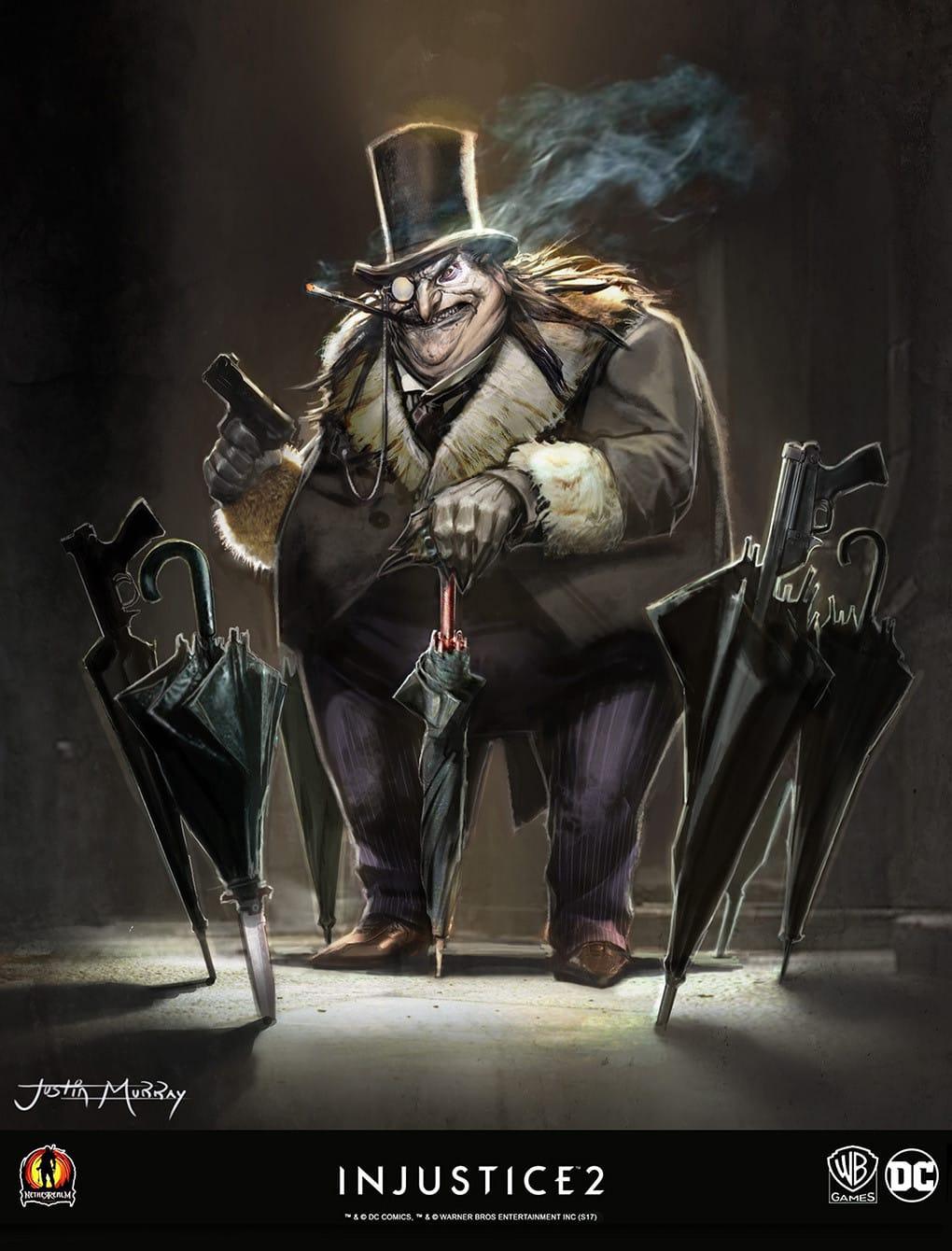 Concept Art Injustice 2 Joker