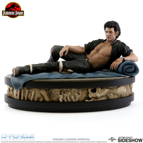 Jurassic Park Sexy Jeff Goldblum Statue Chronicle 2