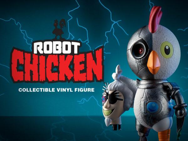 Kidrobot Robot Chicken Vinyl Figure