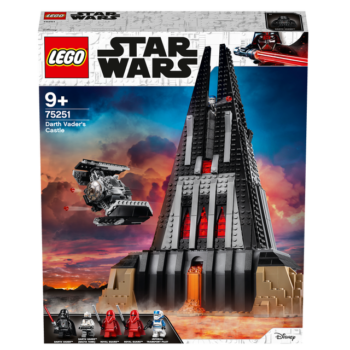LEGO Star Wars Darth Vader's Castle 1