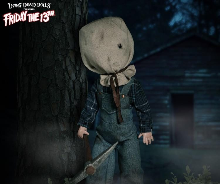 Living Dead Dolls Friday The 13th Jason Voorhees Doll: Living Dead Dolls Friday The 13th Part 2 Jason Up For Order