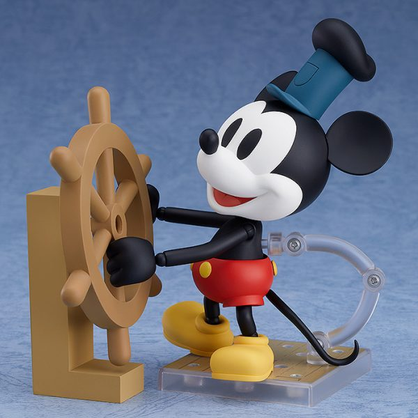 Mickey Mouse Steamboat Willie Nendoroid Figure 1