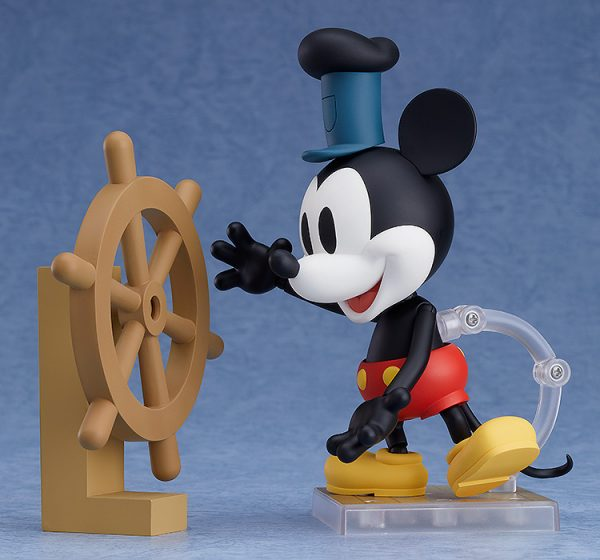 Mickey Mouse Steamboat Willie Nendoroid Figure 3