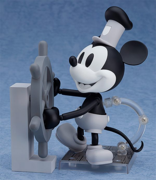 Mickey Mouse Steamboat Willie Nendoroid Figure B&W 1
