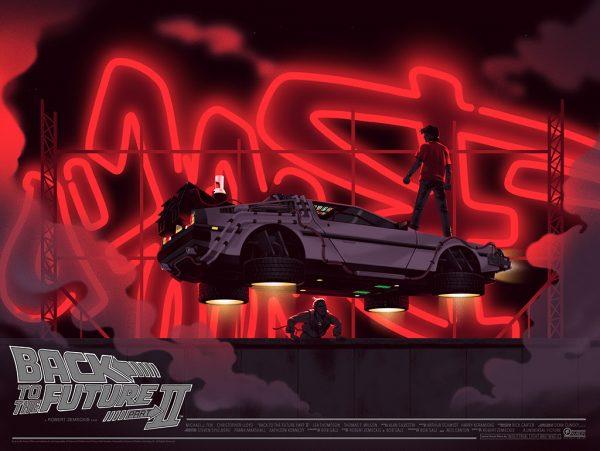 Mondo Back to the Future 2 Poster