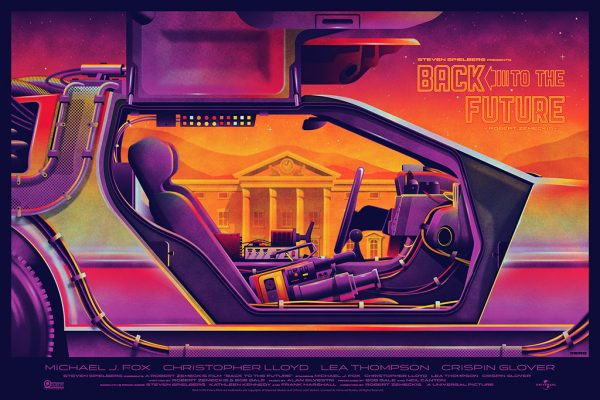 Mondo Back to the Future Poster 2