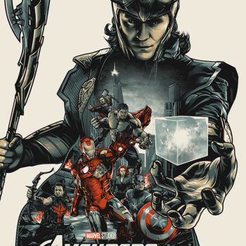 Mondo Marvel Studios 10 Anniversary Avengers by Juugo