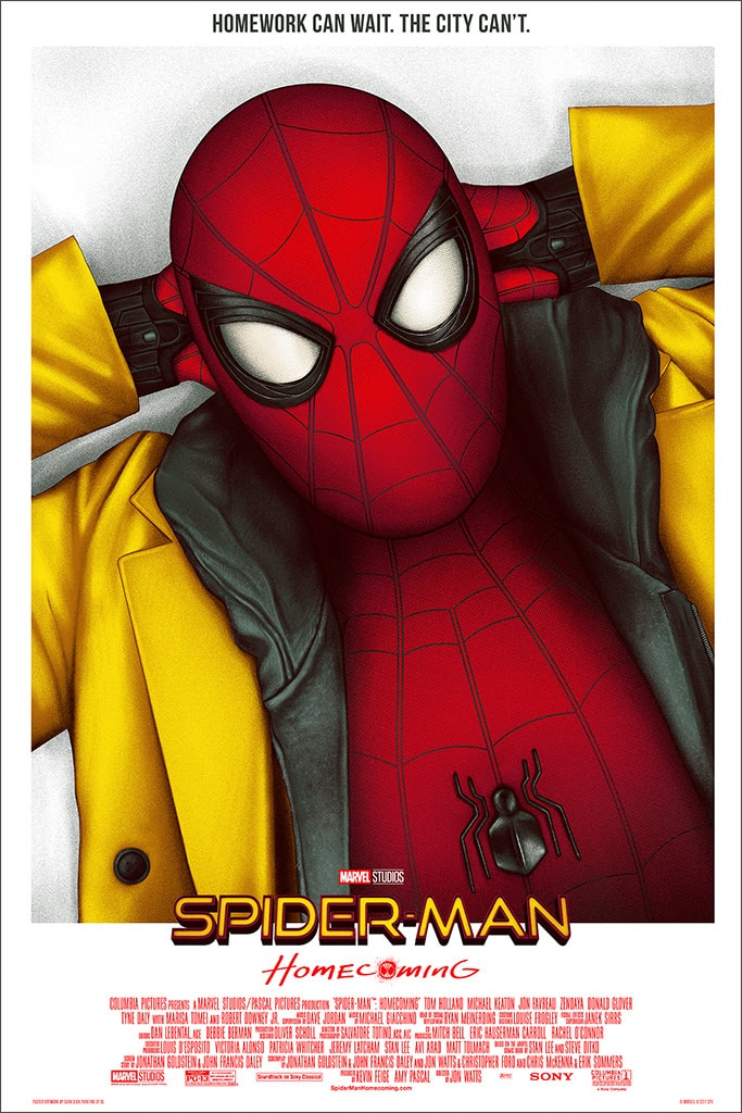 Mondo Marvel Studios 10 Anniversary Spider-man Homecoming by Deck