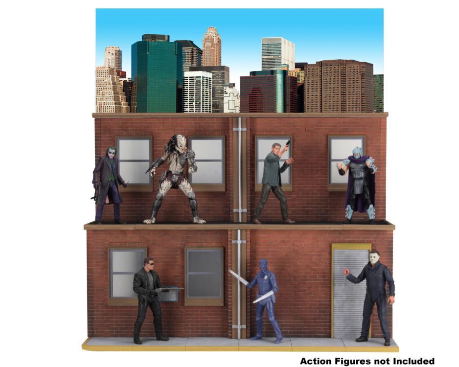NECA Street Scene Diorama 3