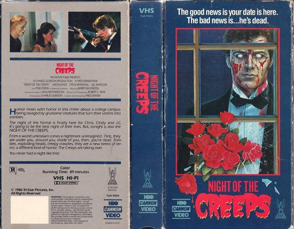 Night of the Creeps VHS
