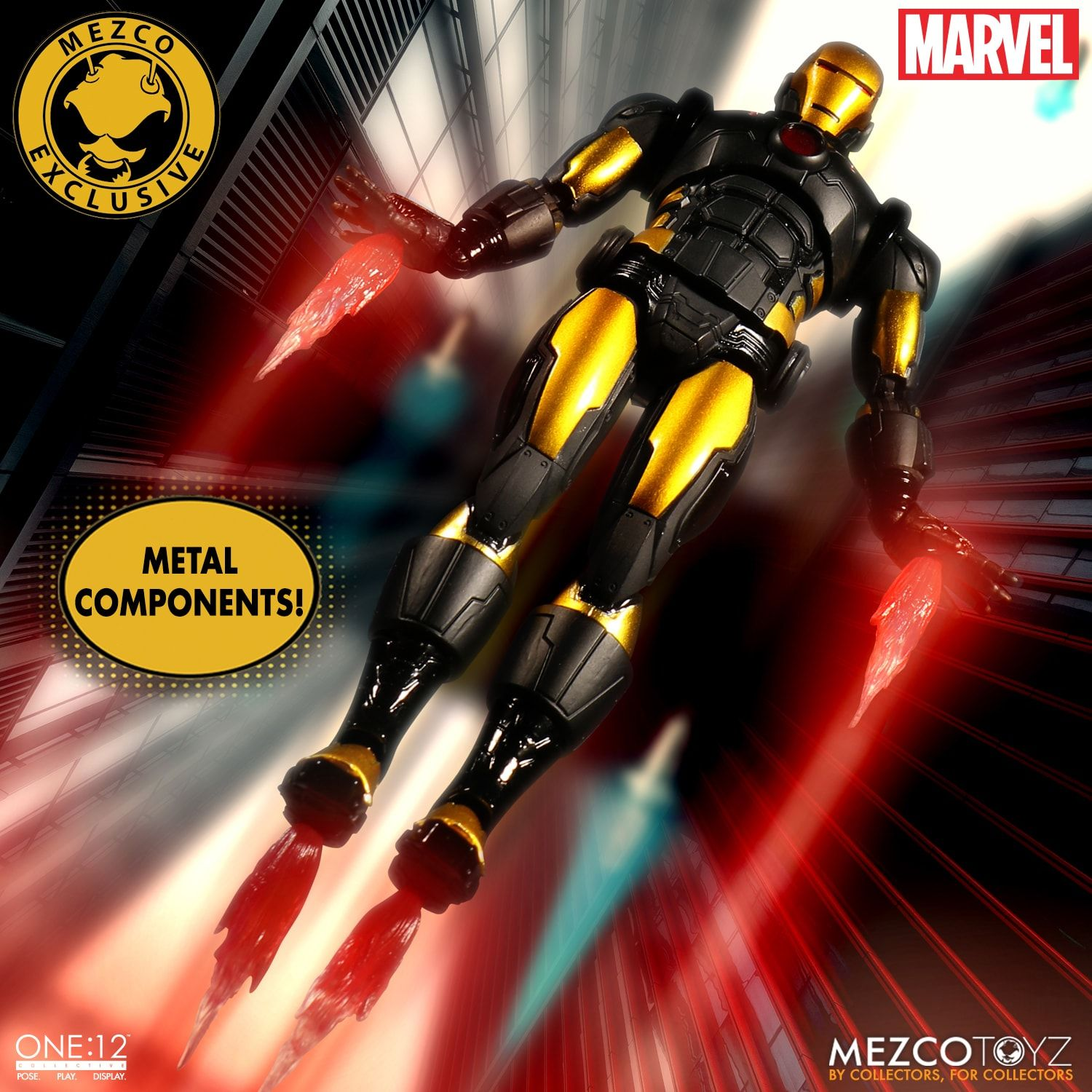 Iron Man Model 42 Armor Coming in November From One:12 Collective - Bleeding Coo...