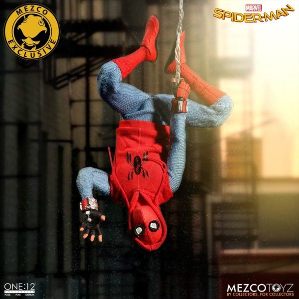 One-12 Collective Spider-Man Homcoming Homemade Suit 11