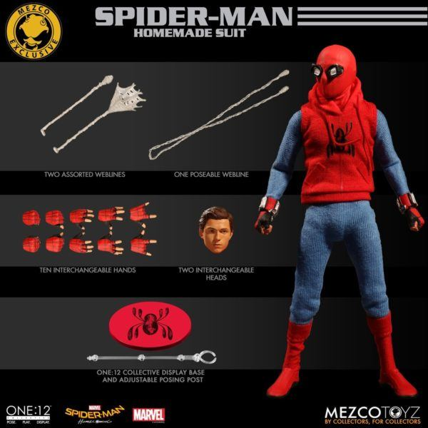 One-12 Collective Spider-Man Homcoming Homemade Suit 12