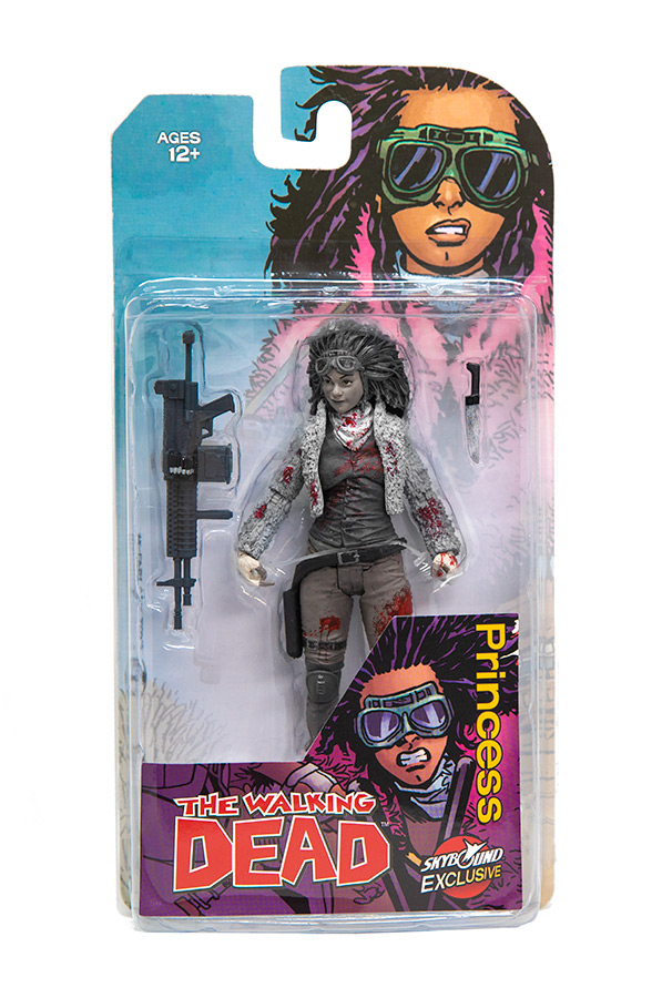 Princess Action Figure (B/W Bloody)
