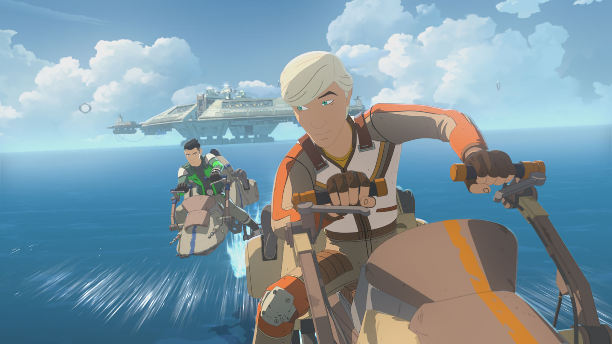 Star Wars Resistance Adds Elijah Wood to Cast in Sunday's